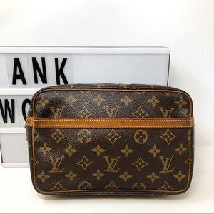 Louis Vuitton Compiegne 23 Monogram pouch bag